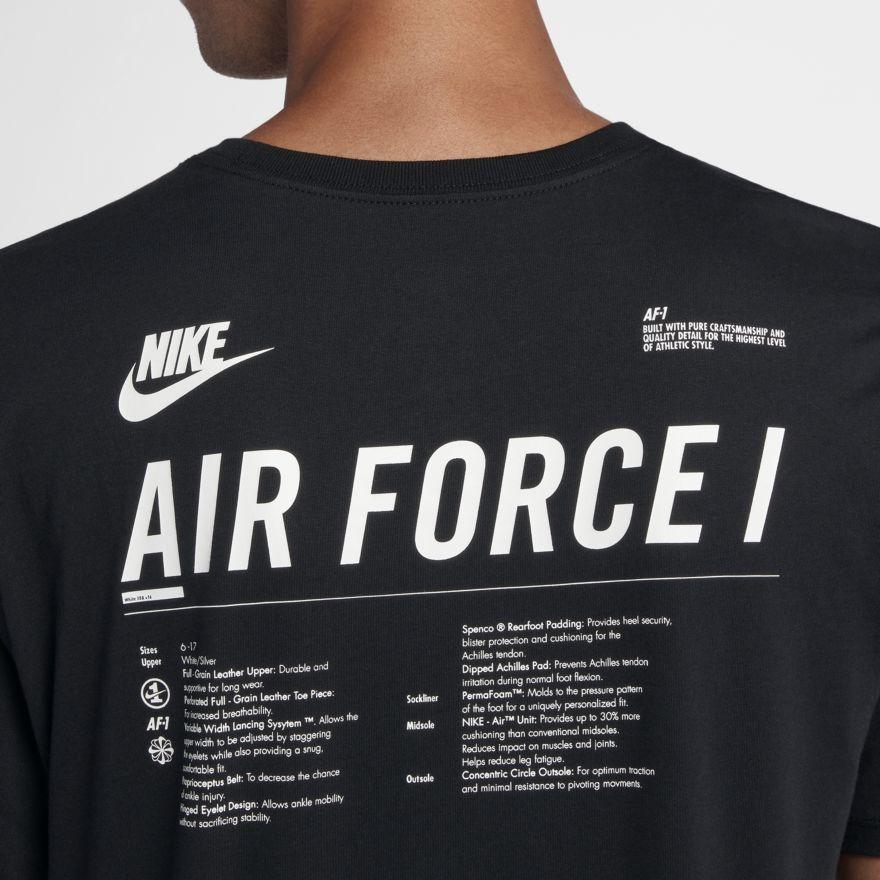 3dd9b850 Nike Sportswear AF1 Men's Graphic T-Shirt | My References | Nike ...