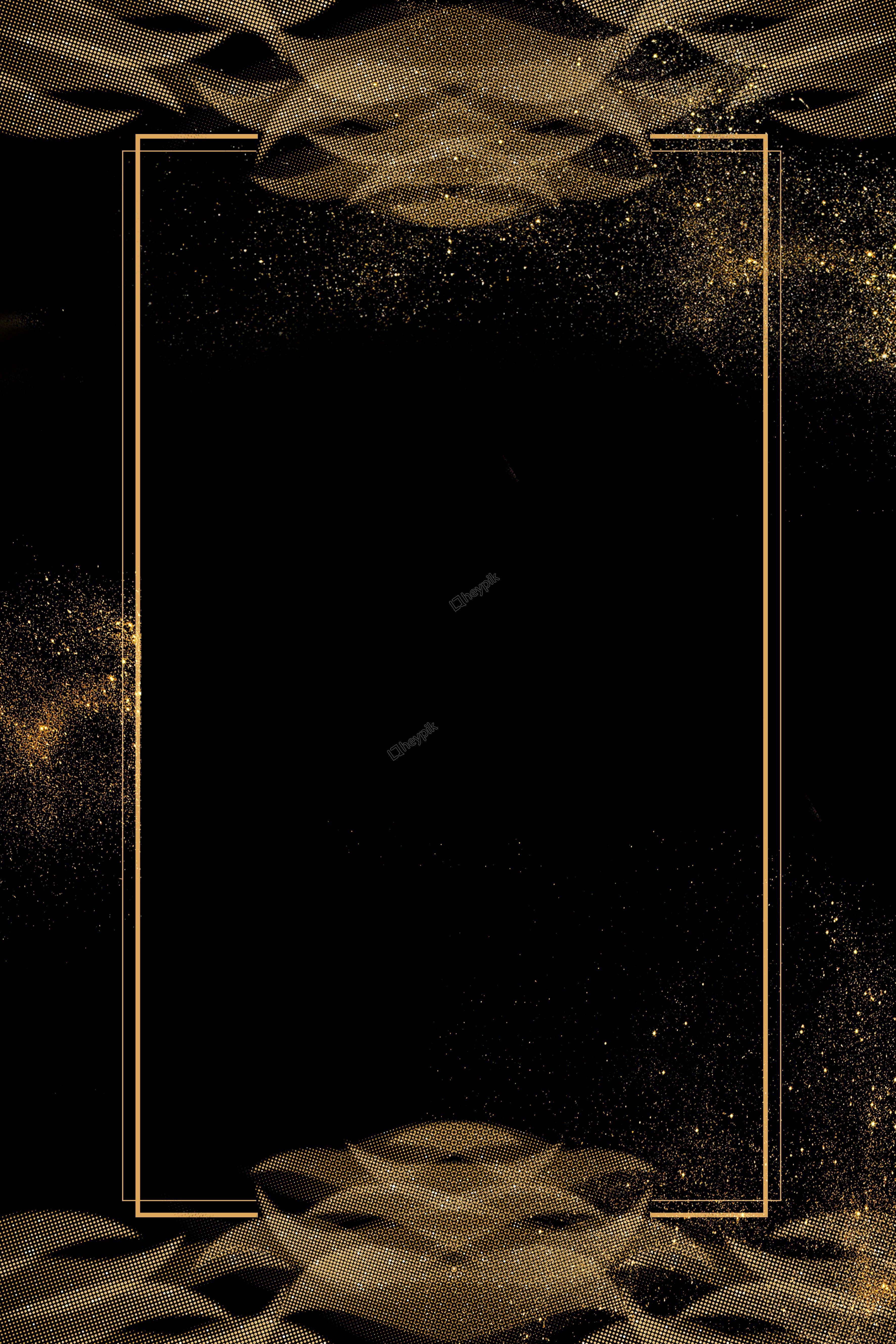 Elegant Black Gold Background Gold And Black Background Poster Background Design Gold Poster