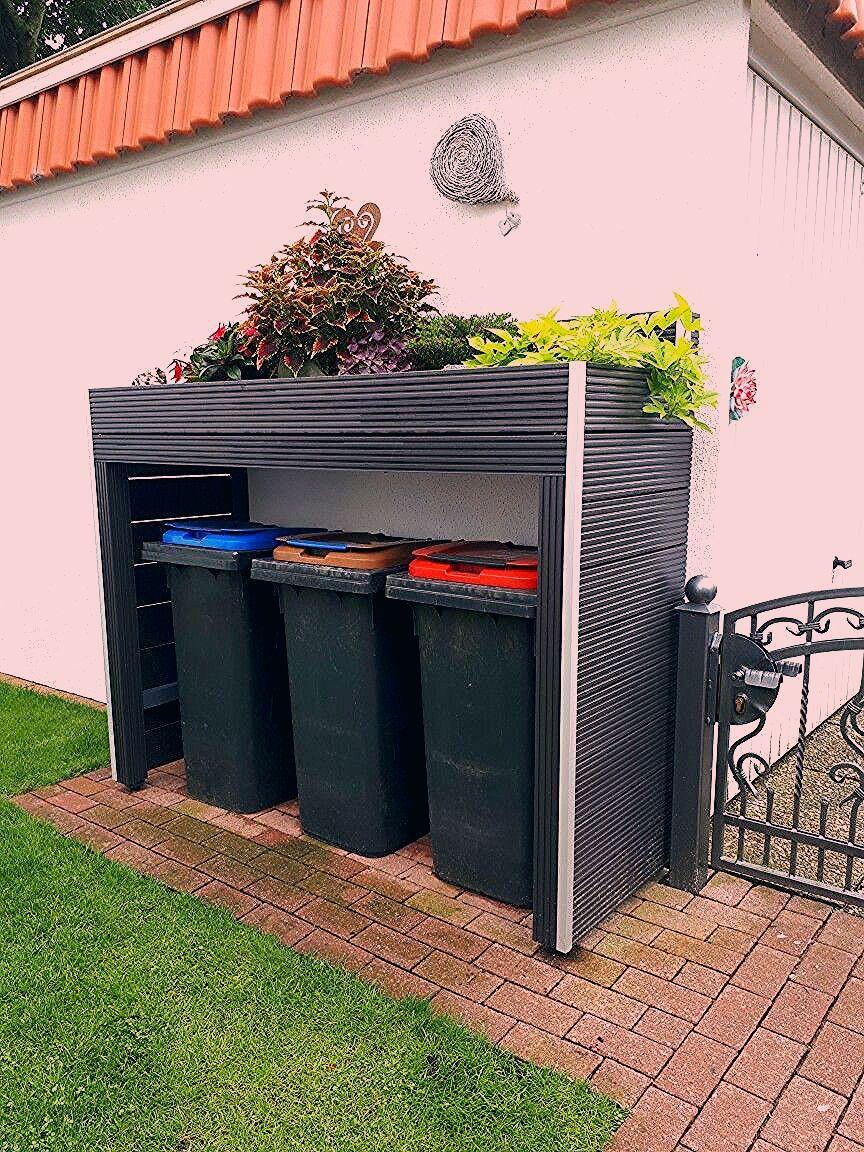 Photo of Mülltonnen Umrandung mit Hochbeet – My Blog