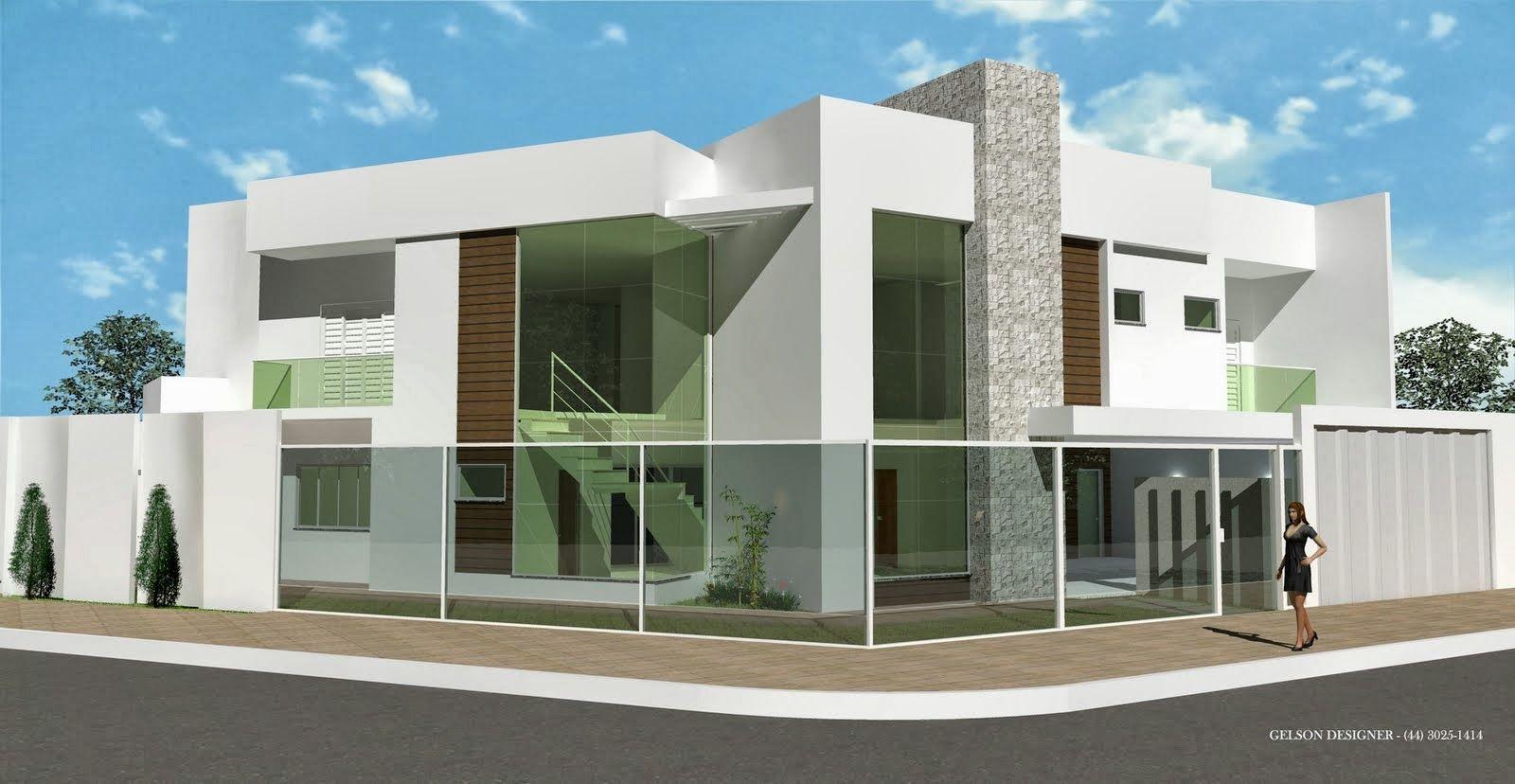 Decor Salteado - Blog de Decoração e Arquitetura : Fachadas de Casas Modernas – Casas sem telhado