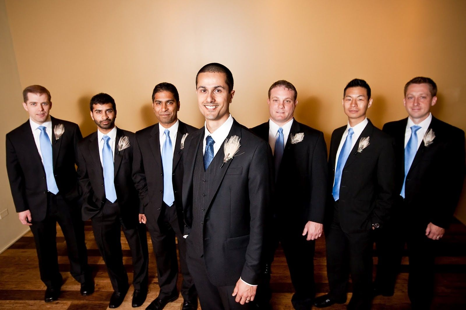 Black-suit-wedding-party.jpg 1600×1067 pixels | My Wedding Board ...