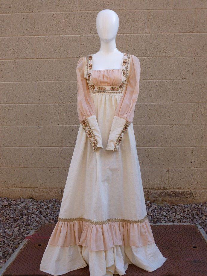 5ff926e863 The Boho Girl Vintage Gunne Sax Prairie Dress in 2019 | gunne sax ...