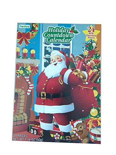 Frankford Santa Chocolate Holiday Countdown Calendar * This is an ...