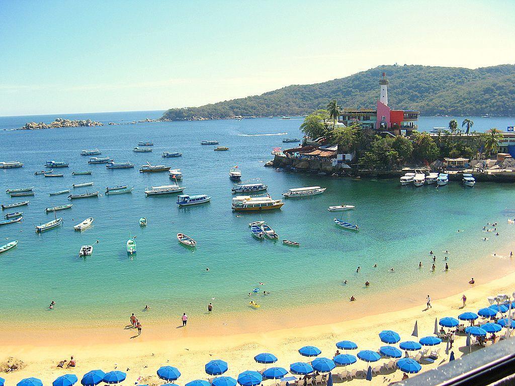 Caleta Beach Acapulco Mexican Riviera