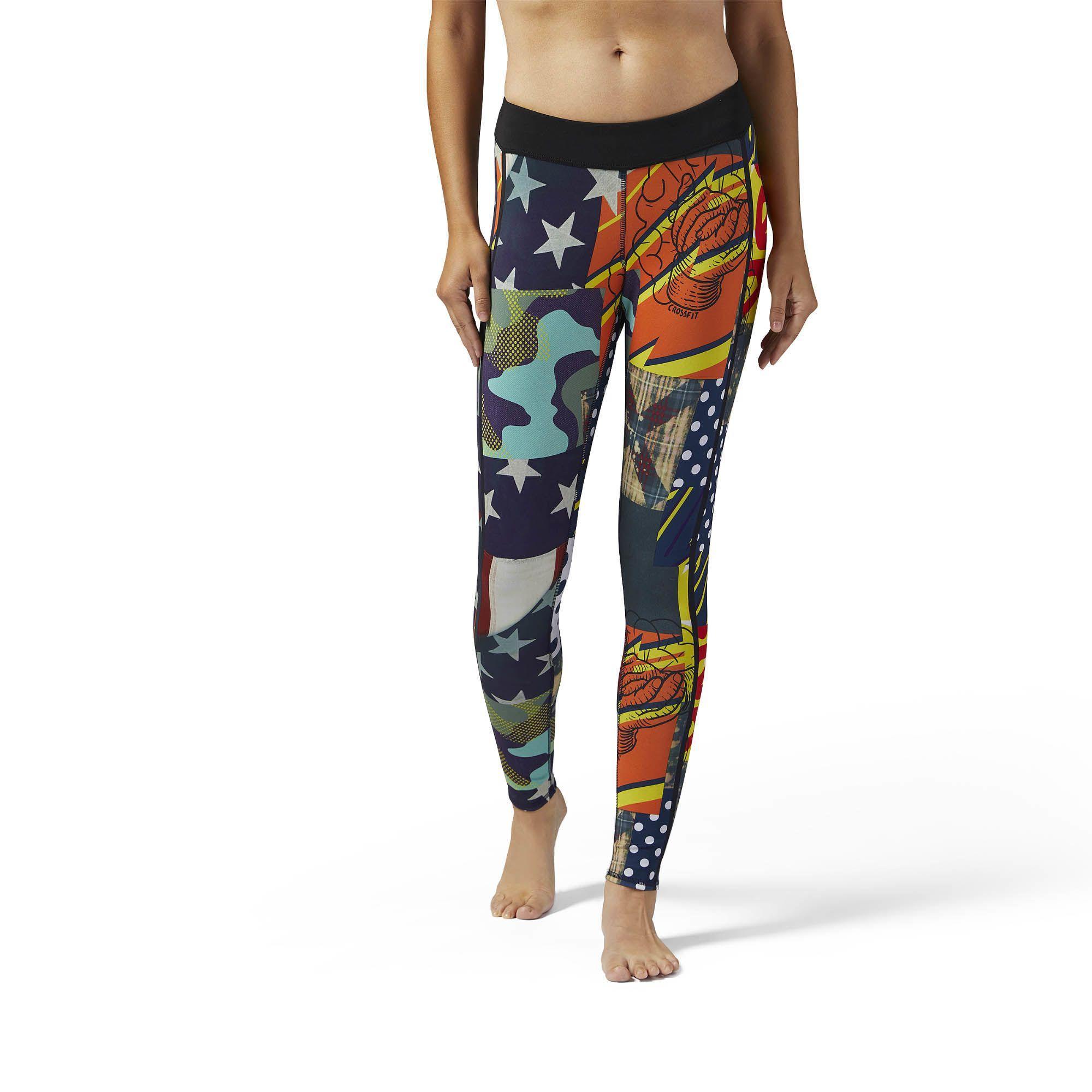 46d943e2fdd1 reebok printed tights
