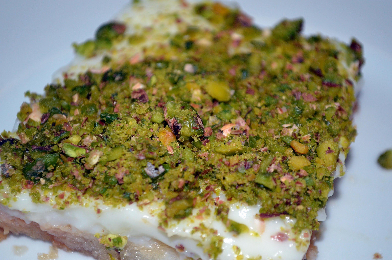 Arabische Süßspeise: Aish El Saraya عيش السرايا | desserts