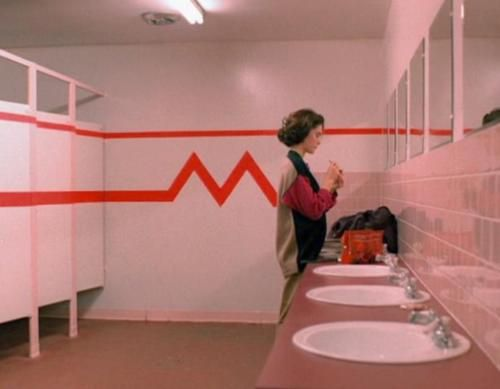 High School Bathroom highschool bathroom scene (still one of my favorites) | damn good