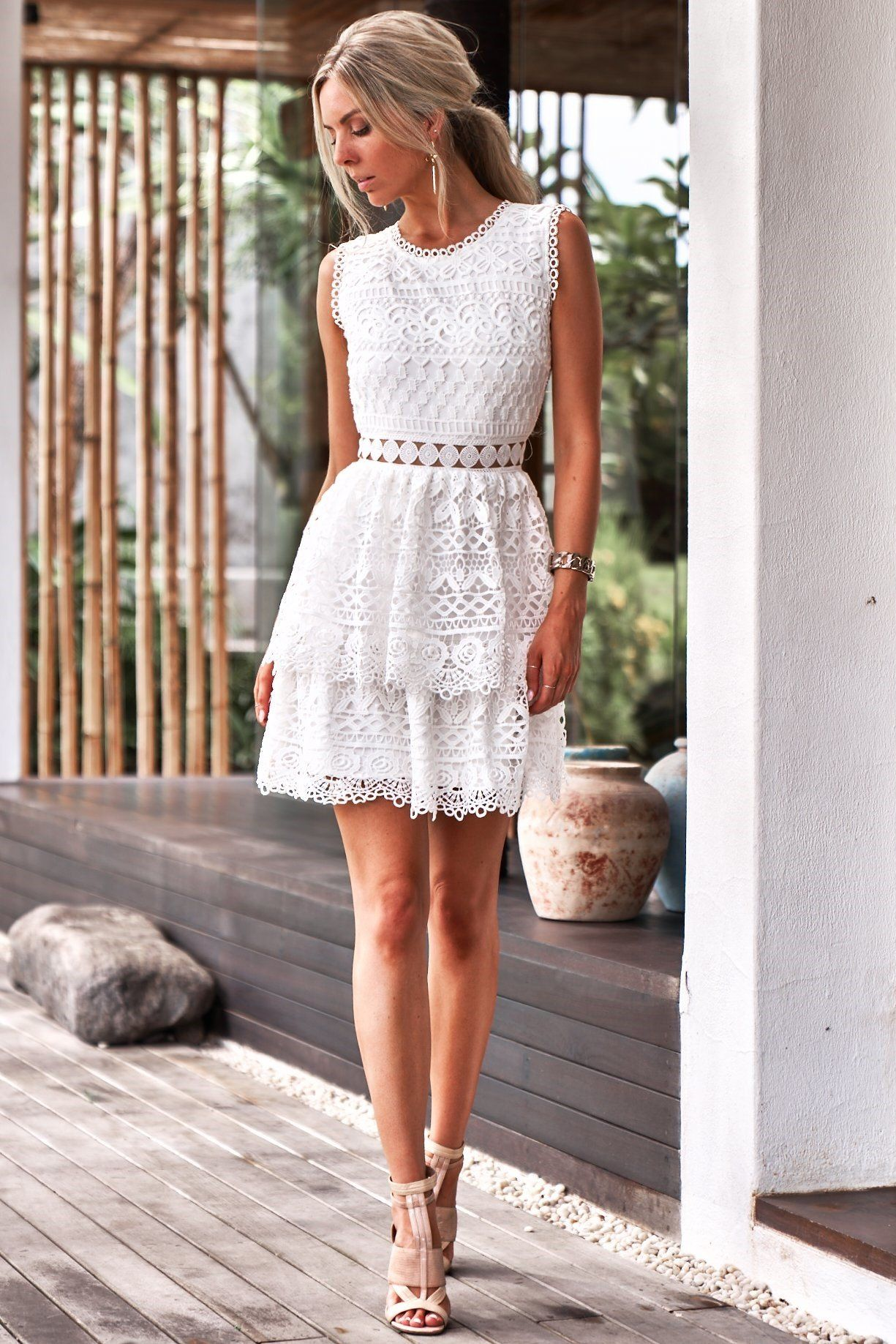 Angely Dress White In 2021 Backless Lace Dress Lace Dress Lace Homecoming Dresses [ 1837 x 1225 Pixel ]