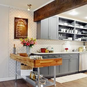 Wooden Countertops Kitchen Rustic Butcher Block Counters