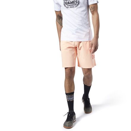 13d73ead46 Reebok Men's CrossFit® Games Epic Base Shorts in Sunglow Size S ...