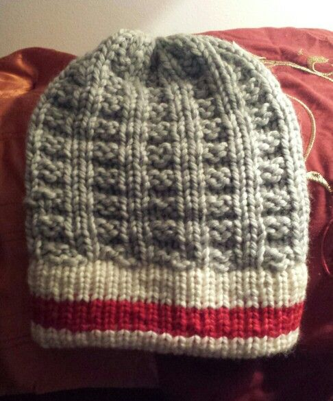 Loom Knitted Work Sock Hat  9506009bf19