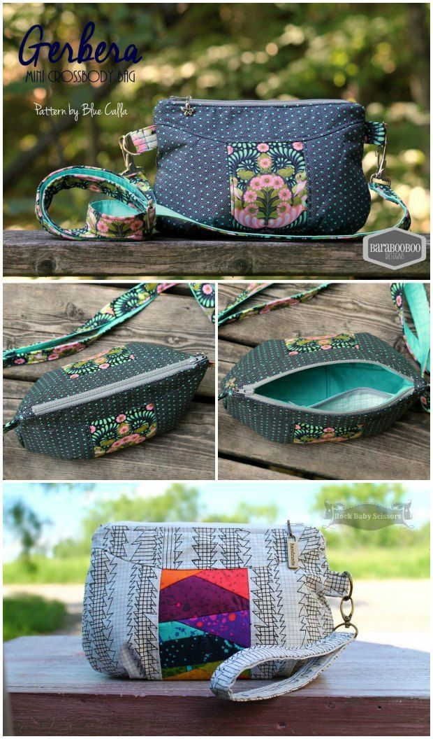 Free Sewing Pattern Wristlet Bag Clutch Or Small Shoulder Instructions Provided For All Options