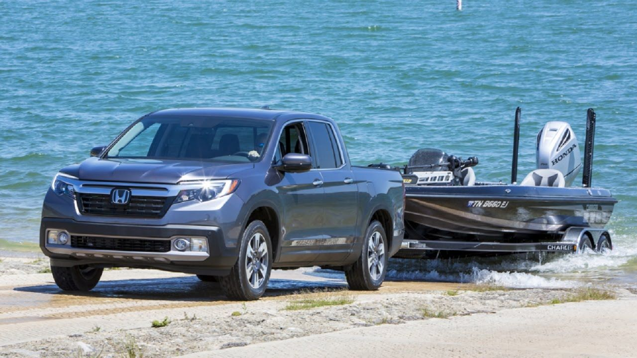 2017 Honda Ridgeline Boat Launch Simualtion Honda