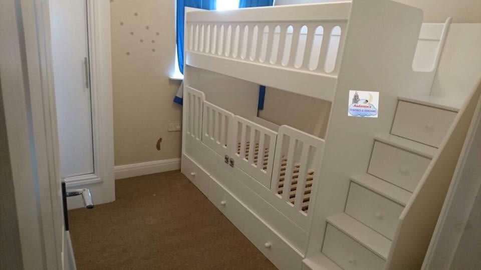 timeless design 7d19d 4f5f0 Bunk beds with removal cot gates | Bunk beds | Cot bunk bed ...