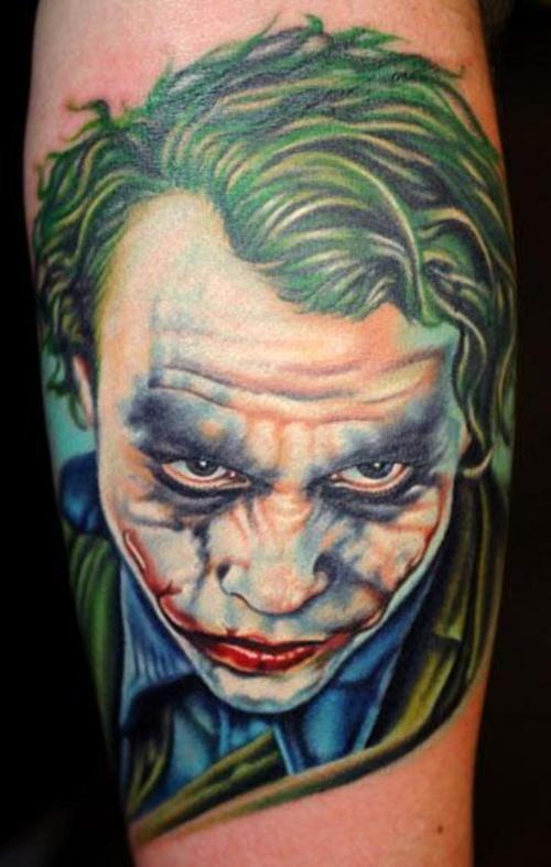 The joker tattoos 1 pinterest for The joker tattoo