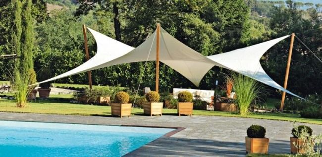 Sonnenschutz Garten manta sonnensegel sechseckig garten sonnenschutz unopiu garten