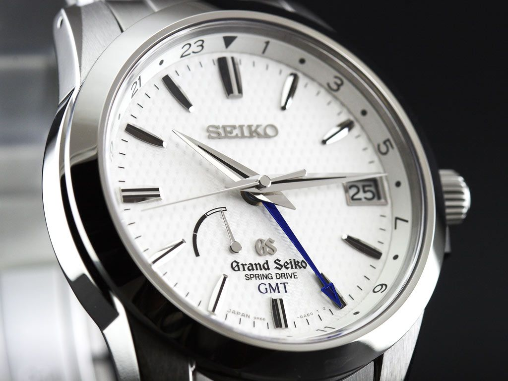 Seiko Grand Seiko Spring Drive Gmt - Excellent Example Of -4562