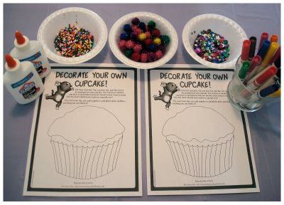If You Give A Cat A Cupcake Storytime Cupcake Crafts Book Crafts