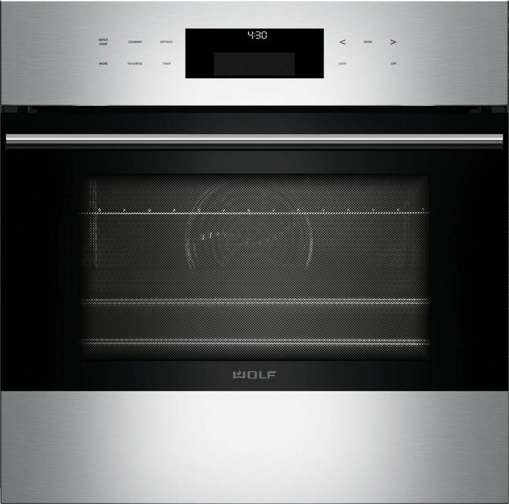Wolf 24 So24te S Th E Series Transitional Built In Single Oven Wolf In 2020 Oven Sale Ebay Wall Oven