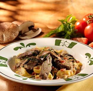 Olive Garden Copy Cat Recipe Braised Beef In Marsala Sauce Over Tortellini Made This For The