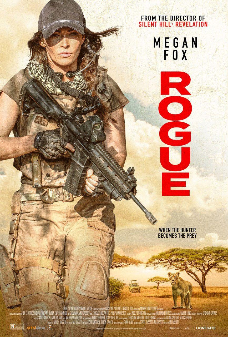 Trailer For Rogue Starring Megan Fox Filmes De Acao Dublado Filmes De Acao Filmes E Series Online