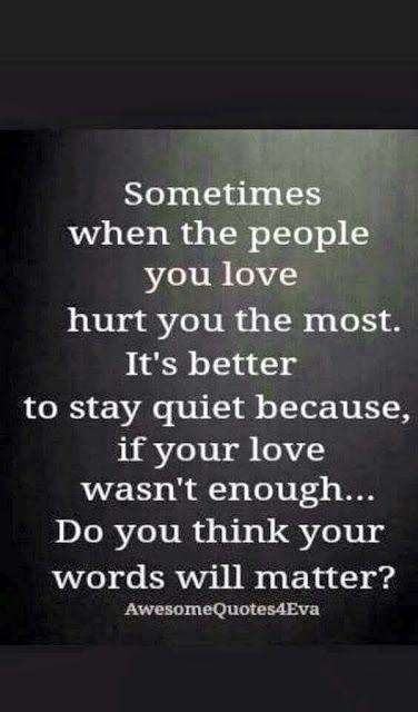 Ultimately...Acceptance