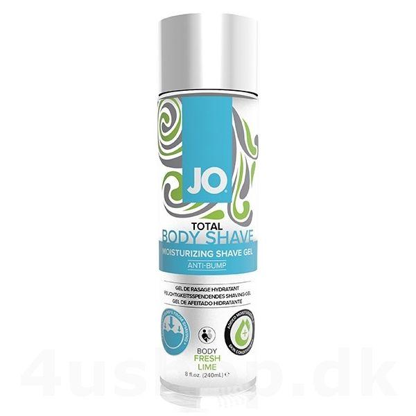 JO Total Body Shave - Moisturizing Shave Gel - barberings gel - fresh lime - 240 ml #shavinggel #antibump #bodyshave #jo #shavegel #moisturizing #barbering