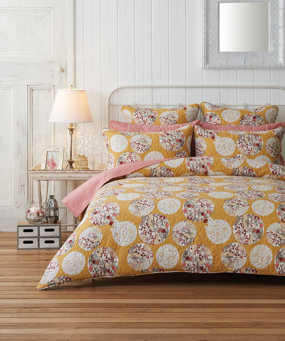 Bedspread & Bright \u0026 contemporary Japanese inspired design. Morgan \u0026 Finch Anzu ...
