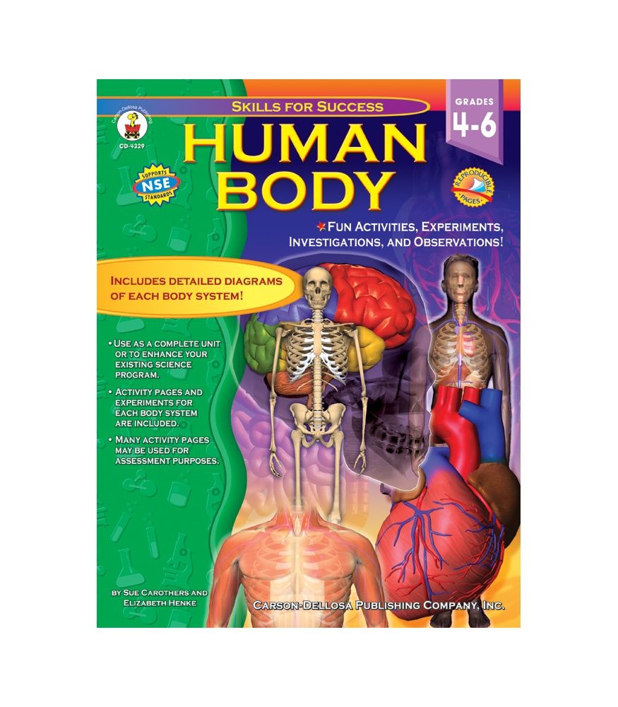 #CDWish13Learning about the human body is fascinating! This captivating text includes diagrams of each body system and organs for students to label and color, crossword puzzles, word searches, analogies, and more!