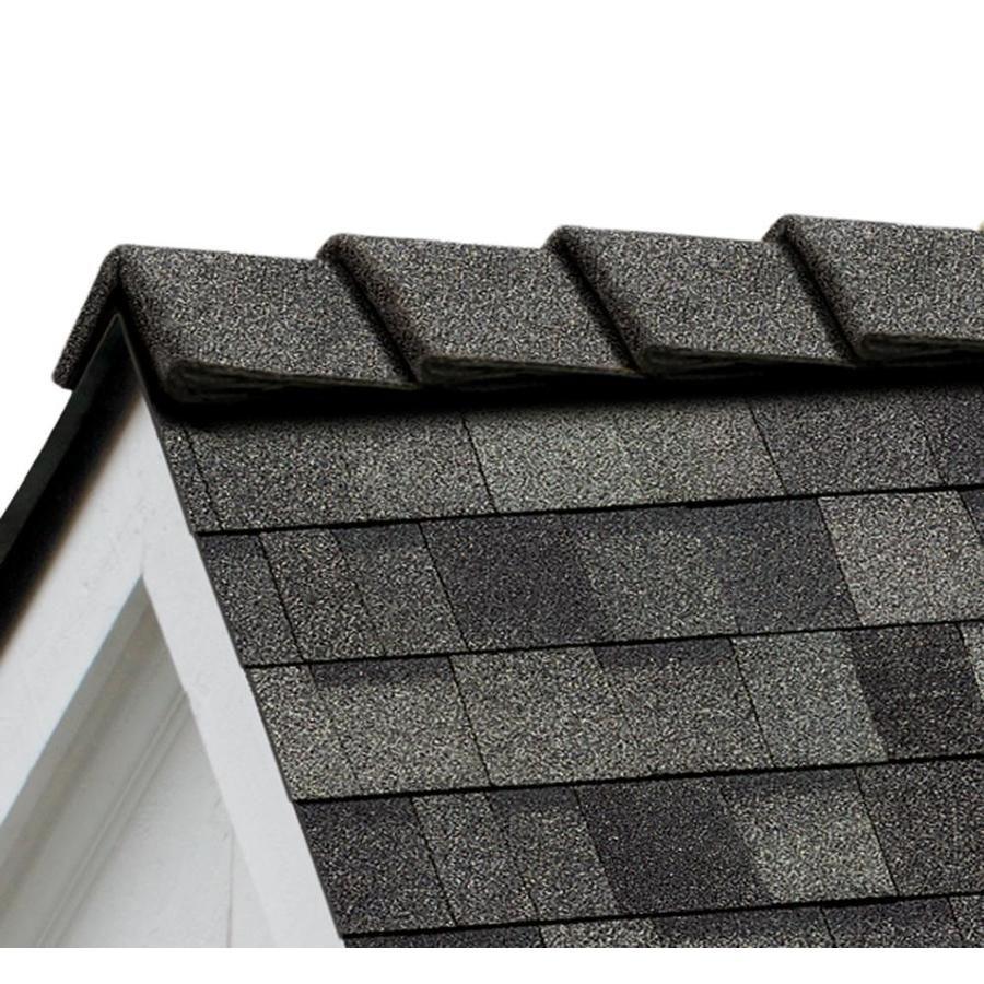 Owens Corning Decoridge 20 Lin Ft Estate Gray Hip And Ridge Roof Shingles De20 In 2020 Ridge Roof Asphalt Roof Shingles Ridge Cap
