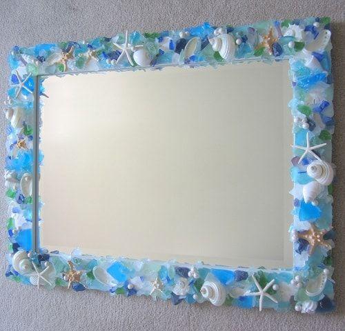 Beach Themed Bathroom Mirrors 14 Min