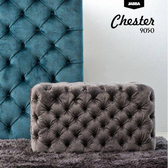 Pufa Pikowana Chester 9050 Welur Jabba Love Seat Home Decor Pillows