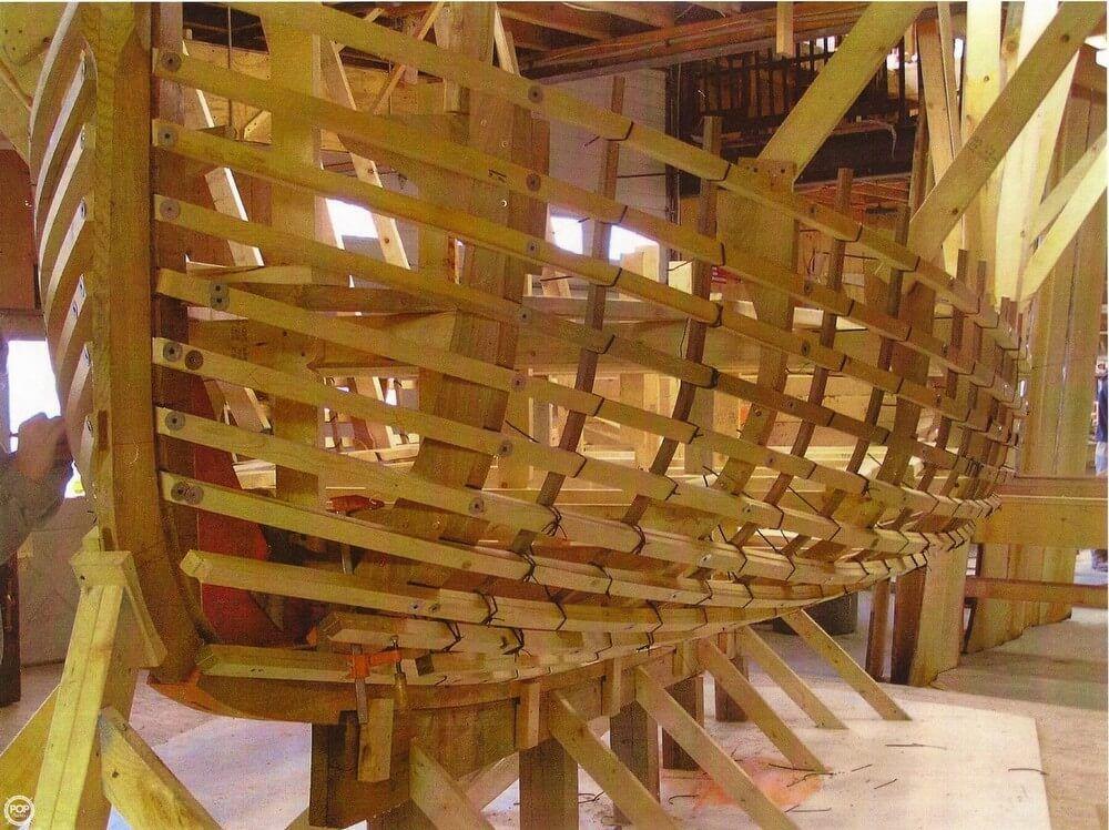 Apprentice Shop At The Atlantic Challenge School In Rockland Maine Boatbuildingshops Boat Building Wooden Ship Boat