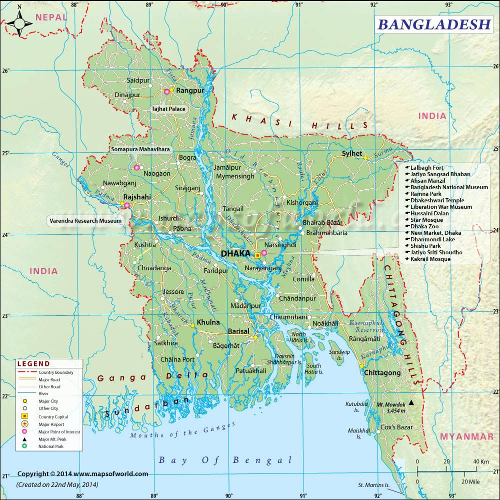 Bangladesh On Map Of Asia.Bangladesh Map Bangladesh Pinterest Map Asia And East Pakistan