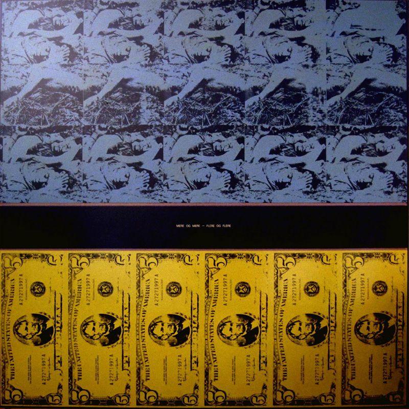 """""""MERE OG MERE – FLERE OG FLERE"""" – 1972 244 x 244 cm  VICTOR LIND"""