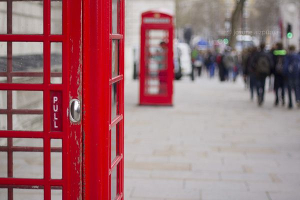 Telephone, London