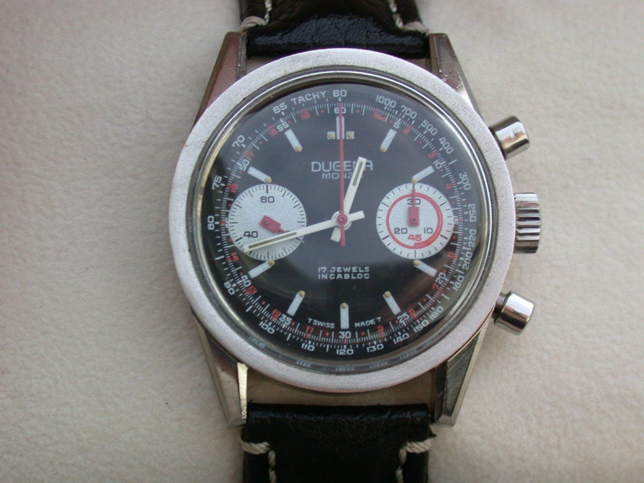 Erledigt] DUGENA MONZA Vintage- Chronograph