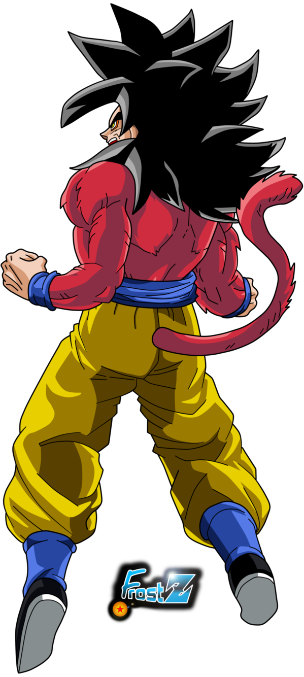 Goku super saiyan 4 by frost z on deviantart goku goku - Broly dragon ball gt ...