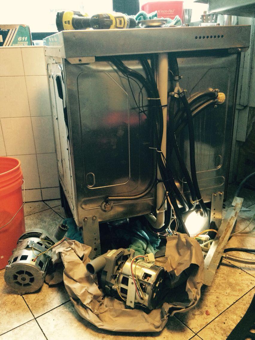 Fagor comercial dishwasher fi48w wash pump replacement