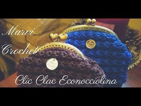 Photo of Tutorial pochette clic clac econocciolina uncinetto / crochet bag
