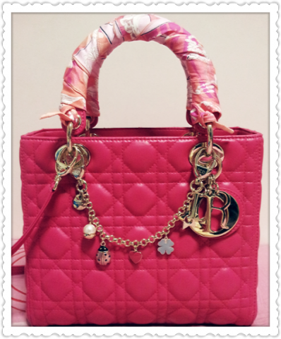 Beautiful hand bag by Dior