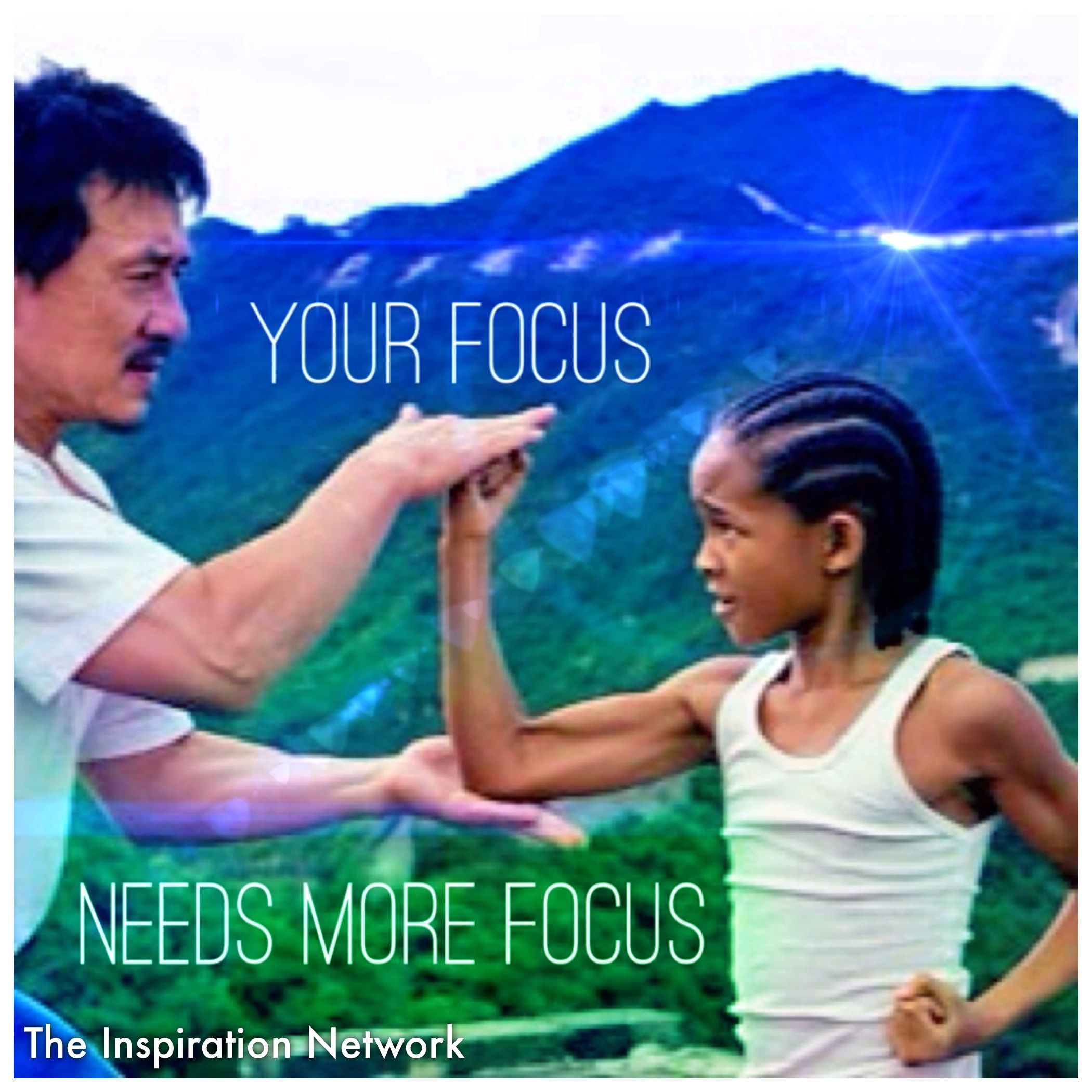 "Karate Kid Quotes Amazing Your Focus Needs More Focus"" ~The Karate Kid 2010 #quote  Yes I"