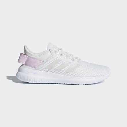 Cloudfoam QT Flex Shoes White Womens in 2020 | Pink adidas