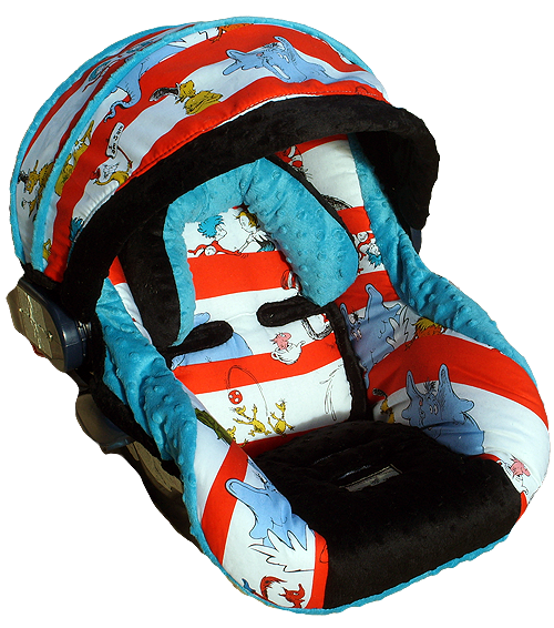 Dr Seuss Replacement Car Seat Cover 198 Cat In The Hat