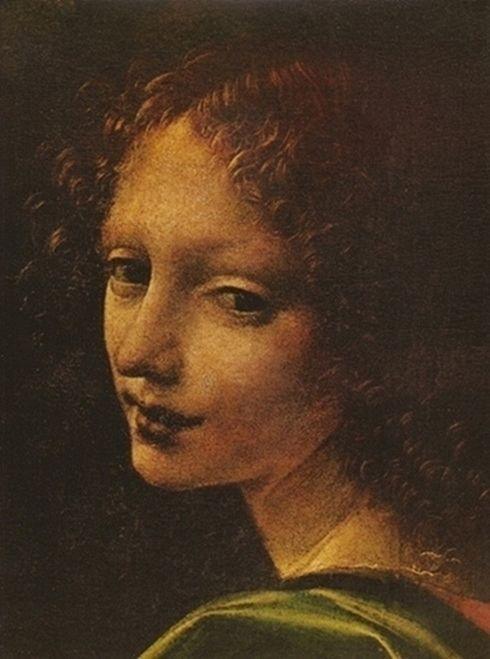 Virgin of the Rocks (detail), Leonardo da Vinci