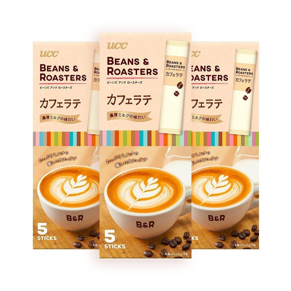 UCC Beans & Roasters Creamy Caffe Latte Sticks. Now, The