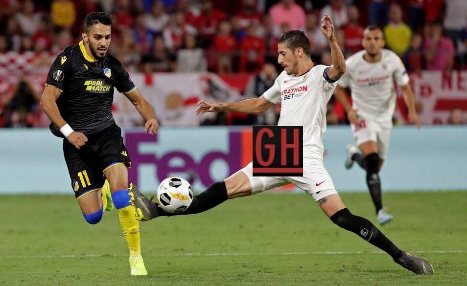 Sevilla 1 0 Apoel Nicosia Soccer Highlights Videos Football Today Soccer Highlights