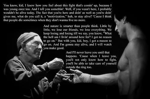 Pin By Melody Cutler On Movie Quotes Motivational Quote Posters Rocky Balboa Quotes Quote Posters