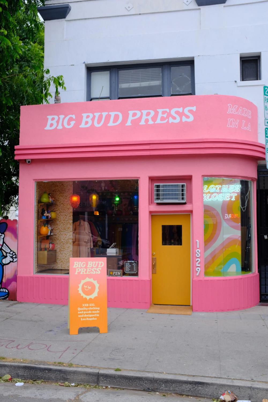 Oh Joy Color Coordinated Closet Echo Park Retail Inspiration