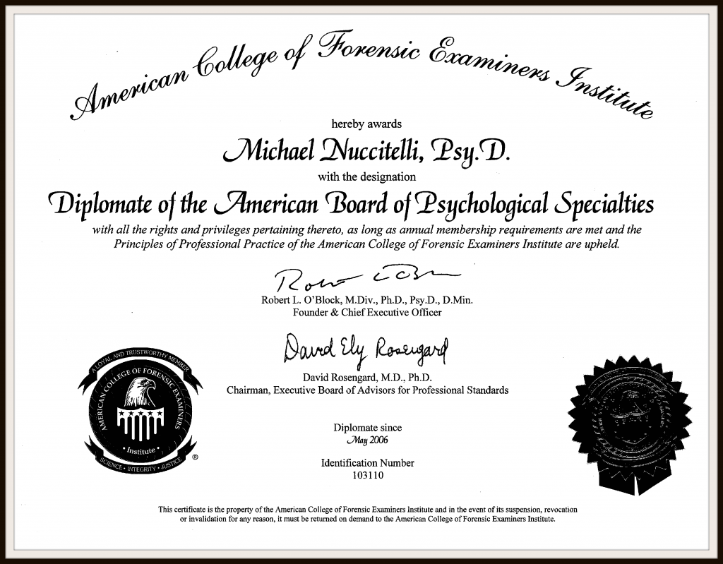 Free Resume 2018 » psychology certificate programs | Free Resume